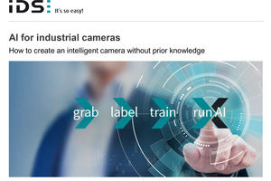 AI for industrial cameras